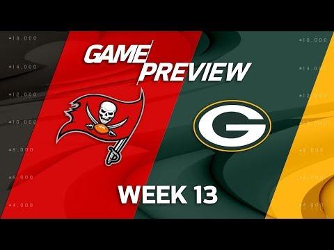Video: Tampa Bay Buccaneers vs. Green Bay Packers | NFL Week 13 Game Preview