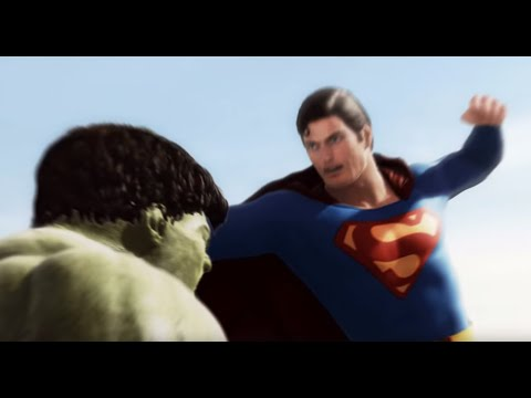 Hulk - This is a continuation of the Intro scene I made six months ago. Hulk and Superman are in the desert and the fight begins. This is a work in progress and the...