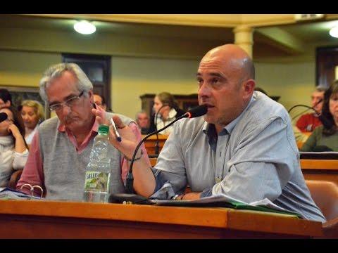 Marco García explicó en la Junta Departamental el trabajo que realiza la Intendencia en el vertedero
