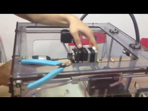 MBOT 3D printer -DIY- Nozzle clearance