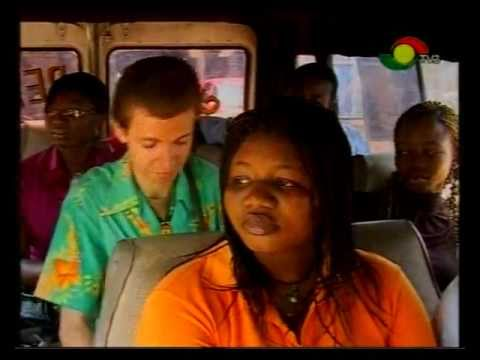 Funny Face -Trotro White Man Buys Roasted Plantain