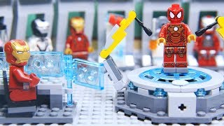 Video Lego IRON MAN's ARMOR was Stolen by SPIDERMAN MP3, 3GP, MP4, WEBM, AVI, FLV Juli 2019