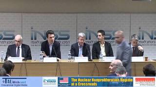 Panel II: The Nuclear Nonproliferation Treaty in Crisis: Challenges