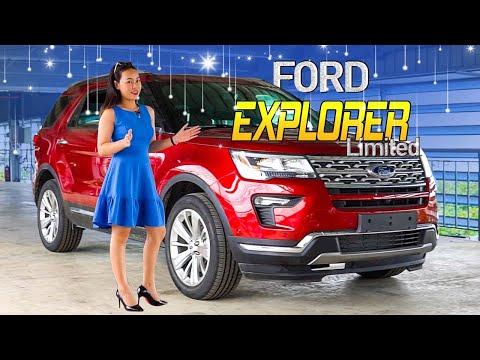 Ford Explorer Limited 2020 Giá 1,950 Tỷ   Gái Mê Xe