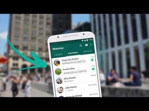 Mensagens para whatsapp - Como colocar respostas automáticas para WhatsApp