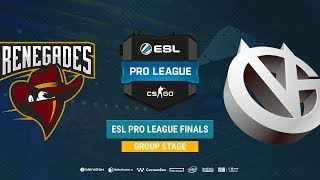 Renegades vs Vici Gaming - ESL Pro League S8 Finals - map2 - de_mirage [Anishared & ceh9]