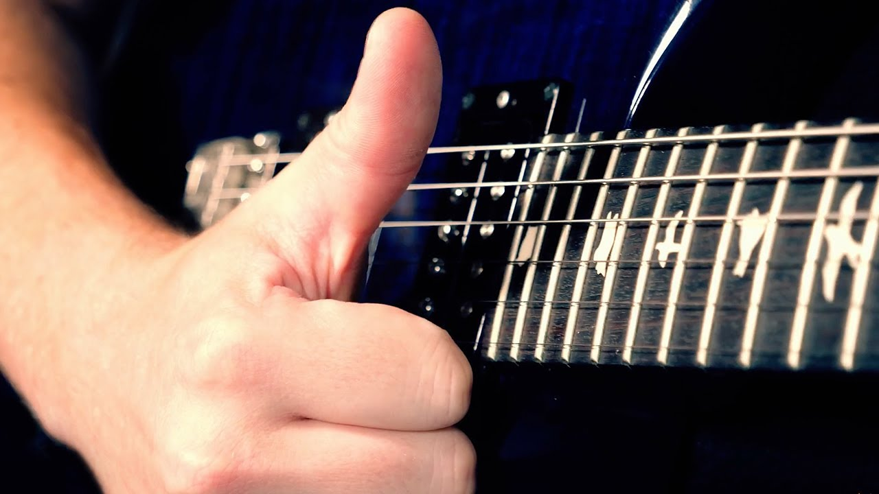 Slap Guitar Technique
