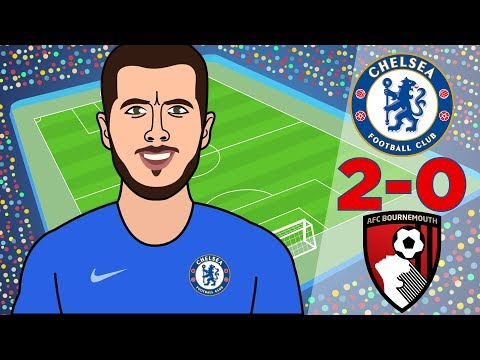 Chelsea Vs AFC Bournemouth 2-0 Can Sarri Continue? All Goals And Highlights - Premier League 2018