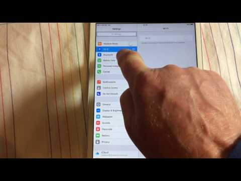#iPad WiFi Greyed Out Network Access Fix Part 1 #fixed1tAPPLEIOStips