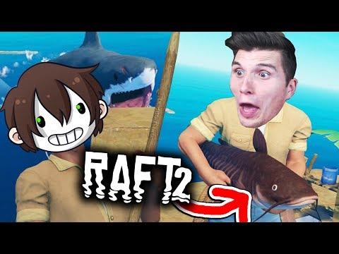 Ich habe den DICKSTEN FISCH im Spiel geangelt! ☆ Raft #02