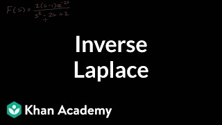 Inverse Laplace examples | Laplace transform | Differential Equations | Khan Academy