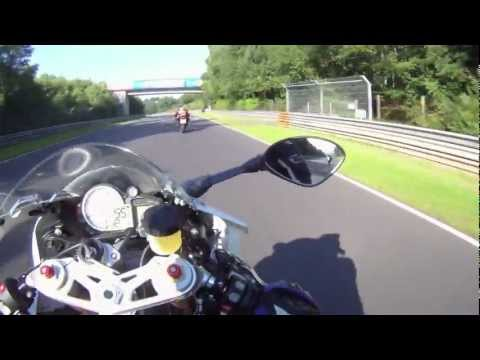 2012 BMW S1000RR, 1 lap of the Nurburgring Nordschleife