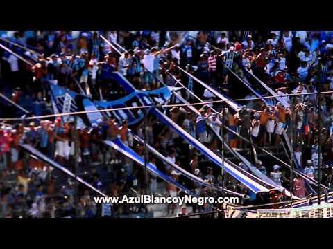 Hinchada de Almagro 3 7-2-15 www.AzulBlancoyNegro.com - La Banda Tricolor - Almagro