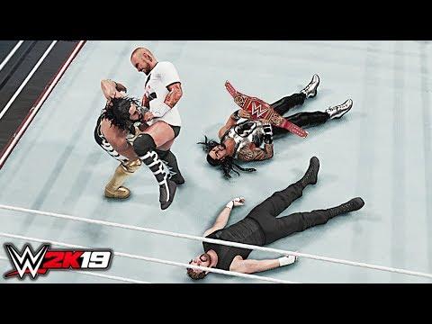 WWE 2K19 Custom Story - CM Punk Shocking Returns & Attacks The Shield At Wrestlemania 35