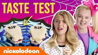 Video JoJo Siwa & Lexi DiBenedetto's Trick Or Treat 🍬 Halloween Taste Test   Nick MP3, 3GP, MP4, WEBM, AVI, FLV Oktober 2018