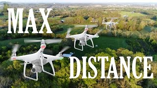 How far can a Phantom 4 fly over a rural, wooded area? Ken and Dana venture to find out! (This was done without signal boosters ...