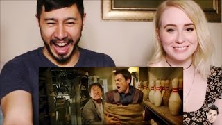 SKIPTRACE trailer reaction review by Jaby & Gwen!