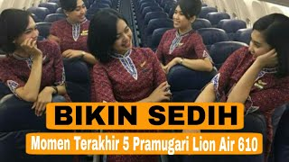 Video Pengen Nangis, Inilah Momen Ke-lima Pramugari Cantik Lion Air MP3, 3GP, MP4, WEBM, AVI, FLV April 2019