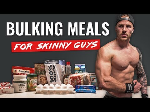 Easy BULKING Meals for Skinny Guys (FULL DAY + TIPS!)