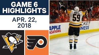 NHL Highlights   Penguins vs. Flyers, Game 6 - Apr. 22, 2018 by Sportsnet Canada