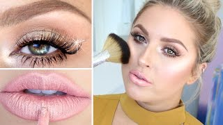 Full Face Highlighter Challenge ♡ Chit Chat GRWM Using Highlighters! by Shaaanxo