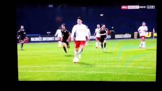 Jonathan Sorianos Lupfer gegen Dinamo Zagreb