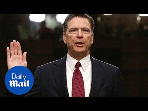 Fired FBI Director Comey says President Trump 'morally unfit' - Daily Mail