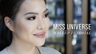 Video WATCH: Miss Universe makeup tutorial MP3, 3GP, MP4, WEBM, AVI, FLV Juni 2018