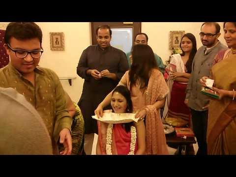 Dhara s baby shower at samrat