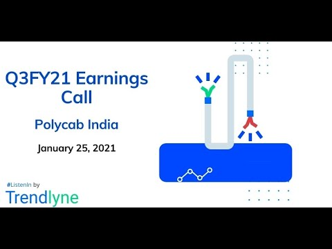 Polycab India Earnings Call for Q3FY21