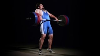 Clean and Jerk in Slo Mo