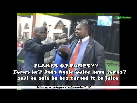 AGAIN! Pastor Lesego Makes Congregants Drink Petrol For Deliverance