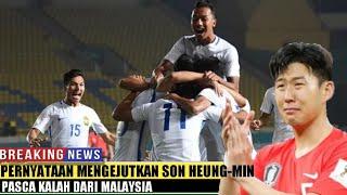 Video Pernyataan Mengejutkan Son Heung-min Pasca Kalah dari Malaysia MP3, 3GP, MP4, WEBM, AVI, FLV Agustus 2018