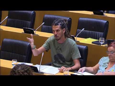 Alberto Rodríguez en la Comisión de Trabajo, Migraciones y Seguridad Social el 30 de agosto