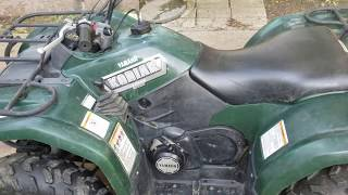 9. Green Quad Part 1 Kodiak 400 barn find.