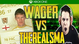 FIFA 14|  EP. 24 | FREDRPVASQUEZ VS THEREALSMA | LEGEND WAGER| SO MUCH RAGE!!