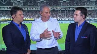Tite dá entrevista para o SporTV