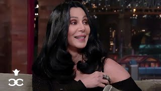 Cher on Dating Elvis: 'I Got Nervous' (2010 Full Letterman Interview)