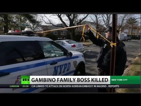 Gambino boss killed gangland style