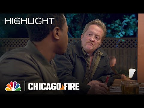 Mouch Has a Special Moment with Ritter - Chicago Fire