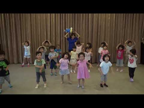 日本全国でレッツ☆うみダンス inかおる保育園のみなさん
