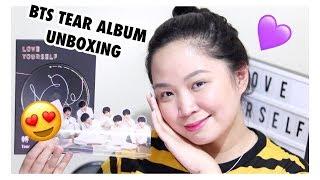 SOBRANG KILIG♡ Unboxing my BTS 'LOVE YOURSELF' TEAR ALBUM! (Anong photocard nakuha ko?)