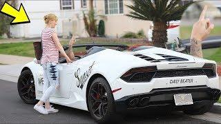 "Video Lamborghini Gold Digger Prank ""GONE RIGHT"" - Gold Diggers Exposed 2019 MP3, 3GP, MP4, WEBM, AVI, FLV Mei 2019"