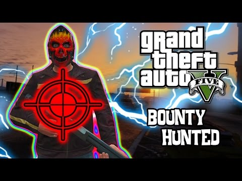 bounty - GTA 5 Online has some funny moments and getting hunted in GTA V is no joke. Its more than a Grand Theft Auto on this game. Tranium and his friends go around and become the hunted. SMACK that...