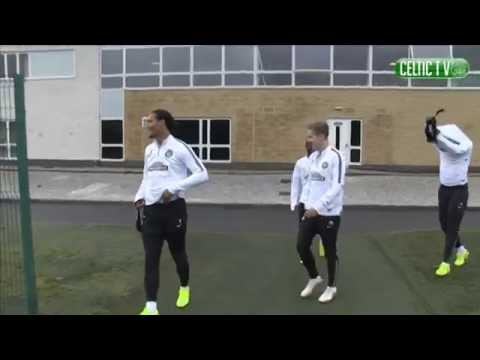 Training - Celtic train at Lennoxtown ahead of this weekend's match against Dundee FC. If you are outside the UK and Ireland you can watch the match LIVE from midday UK Time by subscribing to www.celticfc.tv.
