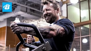 """In Kris' most intense week yet, he swings back and forth between inspiration and frustration. Does he let either extreme cause him to waver from the path? Not a chance.Kris Gethin's Pre-Intra-Post Supplement Stack ► http://bbcom.me/2qav560Free & Flat Rate Shipping on Kaged Muscle Supplements  Look for the B-Elite Badge ► http://bbcom.me/2r9SMzfKris Gethin's Man of Iron Training Program ► http://bbcom.me/2ra68v8""""It feels like my body is finally starting to respond, and it feels like I could grow,"""" Kris Gethin says during his third week of training for an Iron Man triathlon. Adding muscle during triathlon prep—straight crazy, right? But if there's one person whose intuition we should trust when it comes to muscle, it's the master of pain. At times during this week, Kris feels stronger than ever. At others, he's having to """"wind himself up"""" before every set, or bristling at having to wait for a swimming lane. He's ready to take the bull by the horns, he says, but the world isn't always willing to cooperate. As always, the full breakdown of Kris' workouts is available as a download if you want to follow along, or you can just watch to follow the adventure.  Training and Nutrition Tips from Week 3 - Weather is just water. There's nothing saying you can't run in the rain or bike against a headwind. On the contrary, it can be an inspiring experience that opens you to a new type of training intensity. - There may be a best type of physique to win a race, but not to finish it. No matter your size or experience level, your work ethic is your secret weapon. - Bodybuilders tend to reward themselves with epic """"cheat meals,"""" but there are other types of rewards. Kris' rest day protocol: a well-earned movie by himself. - Hurting like crazy? Two bags of ice in a bathtub will do wonders, but it'll be a shock to the system. - Resist the urge to chase volume for volume's sake. Remember, Kris' unique approach is to dial back volume and replace it with intensity. Will it work? Time will """