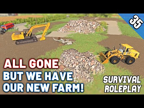 DESTROYED...LUCKILY WE HAVE A NEW FARM!  - Survival Roleplay S3 | Episode 35
