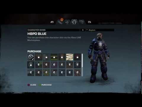 Gears of War Judgment (GoWJ) skins de armas y personajes