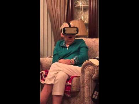 Grandma Tries Virtual Reality
