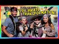 Our Ultimate Pirate Transformation We Are The Davises